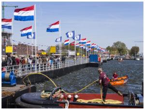 Pontonbrug Amsterdam-Noord